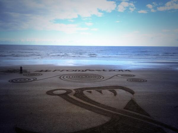 #promfest2014 Sand Art - picture credit to @DanGoggin